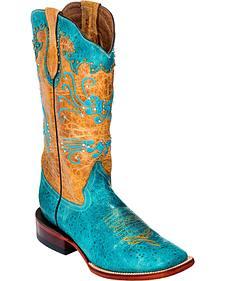 Ferrini Maestro Cowgirl Boots - Square Toe