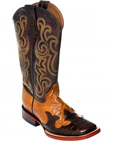 Ferrini Wingtip Cowgirl Boots - Square Toe