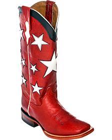 Ferrini Americana Cowgirl Boots - Square Toe