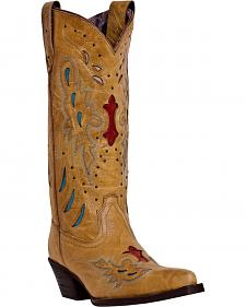 Laredo Women's Wild Angel Western Boots - Snip Toe