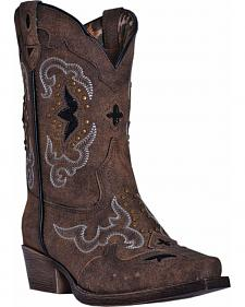Dan Post Girls' Rulay Cowgirl Boots - Snip Toe