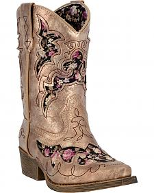 Laredo Girls' Sabre Western Boots - Snip Toe