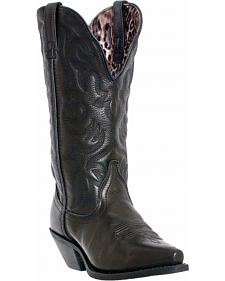Laredo Access Deep Dip Cowgirl Boots - Snip Toe