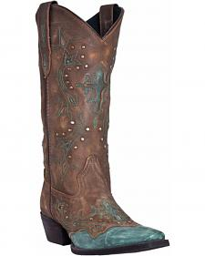 Laredo Cross Point Cowgirl Boots - Snip Toe