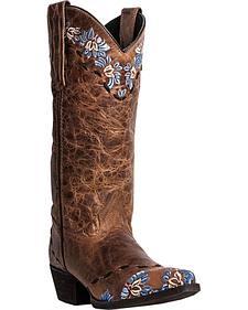 Laredo Mystique Cowgirl Boots - Snip Toe