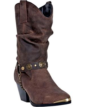 Dingo Olivia Fashion Cowgirl Boots - Pointed Toe