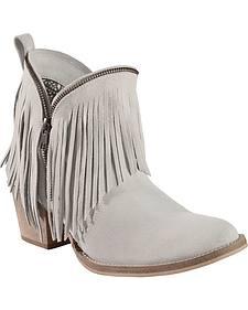 Dingo Hypnotic Fringe Cowgirl Boots - Round Toe