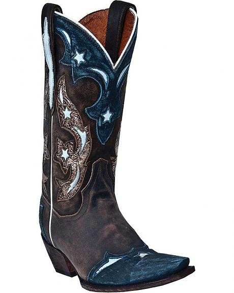 Dan Post Copper Queen Cowgirl Boots - Snip Toe