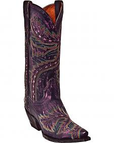 Dan Post Sidewinder Cowgirl Boots - Snip Toe