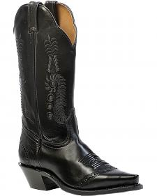 Boulet Laced Cowgirl Boots - Snip Toe