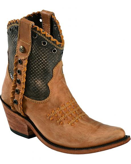 Liberty Black America Vintage Canela Cowgirl Boots - Pointed Toe