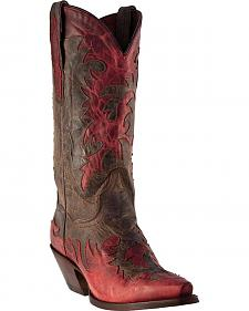 Dan Post Amy Wingtip Cowgirl Boots - Snip Toe