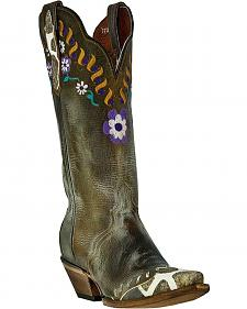 Dan Post Miss Adventure Cowgirl Boots - Snip Toe