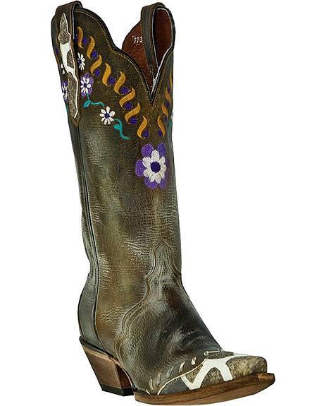 Dan Post Miss Adventure Cowgirl Boots - Snip Toe