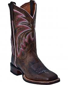 Dan Post Bail Out Cowgirl Boots - Square Toe