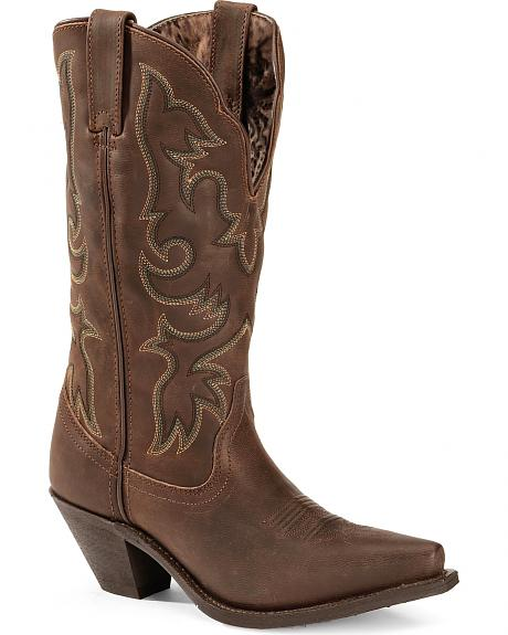 Laredo Access Cowgirl Boots - Extended Calf Sizes - Snip Toe