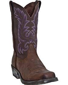 Laredo Prowler Cowgirl Boots - Square Toe