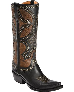 Lucchese Handcrafted 1883 Leila Cowgirl Boots - Snip Toe