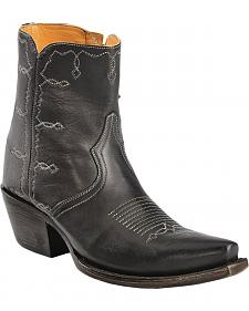 Lucchese Handcrafted 1883 Rhiannon Side-Zip Shootie