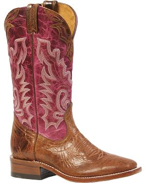 Boulet Puma Cowgirl Boots - Square Toe