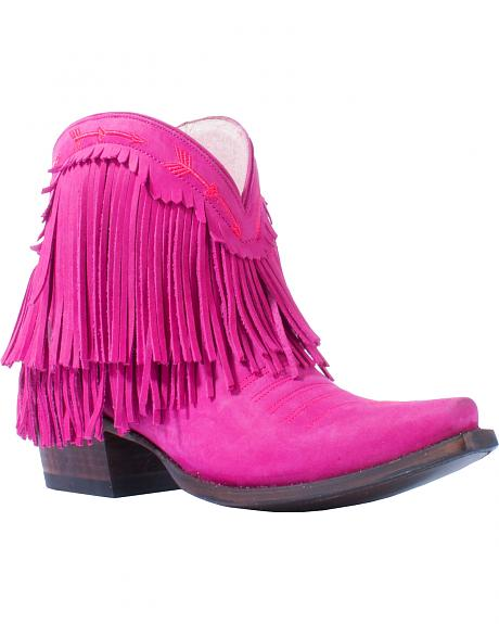 Junk Gypsy by Lane Women's Pink Spitfire Boots - Snip Toe