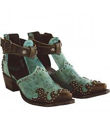 Lane Women's Turquoise South of San Saba Shoes