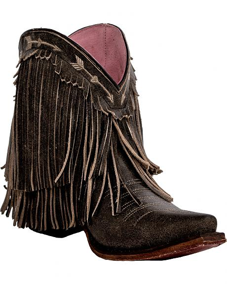Junk Gypsy by Lane Women's Rustic Brown Spitfire Boots - Snip Toe
