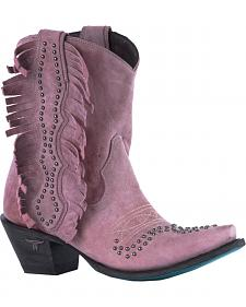 Lane Pink Olivia Cowgirl Boots - Snip Toe