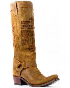 Junk Gypsy by Lane Honey She Who is Brave Cowgirl Boots - Snip Toe