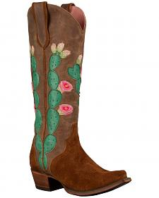 Lane Women's Brown Junk Gypsy Hard to Handle Western Boots - Snip Toe