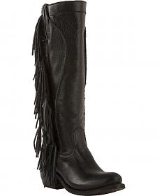 Junk Gypsy by Lane Women's Black Texas Tumbleweed Boots - Round Toe