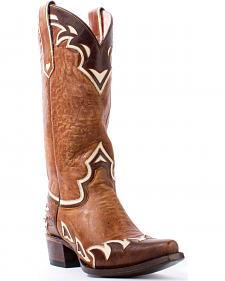 Junk Gypsy by Lane Women's Brown Back 40 Boots - Snip Toe