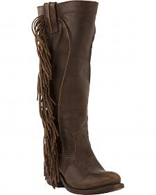 Junk Gypsy by Lane Chocolate Texas Tumbleweed Boots - Round Toe