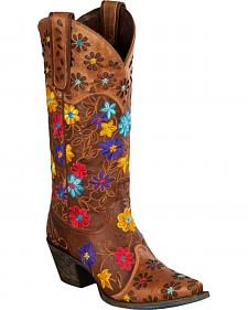 Lane Women's Daisy Queen Western Boots - Snip Toe