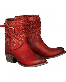 Lane Women's Red Dove Boots - Round Toe