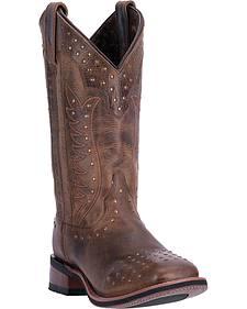 Laredo Deja Voo Cowgirl Boots - Square Toe