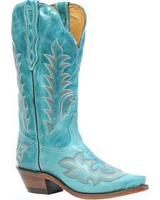 Boulet Deerlite Cowgirl Boots - Snip Toe