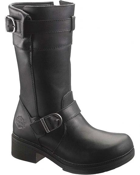 Harley Davidson Felicity Motorcycle Boots - Round Toe
