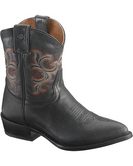 Harley Davidson Emma-Lee Motorcycle Boots - Pointed Toe