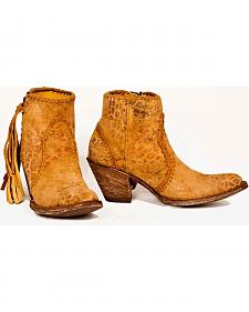 Old Gringo Adela Short Cowgirl Boots - Round Toe