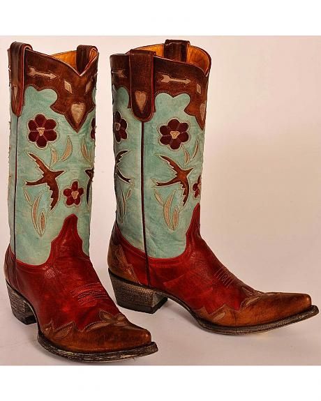 Old Gringo Golondrina Pull Cowgirl Boots - Pointed Toe
