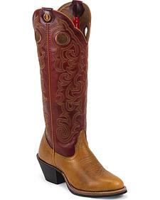 Tony Lama 3R Pronto Tosia Cowgirl Boots - Round Toe