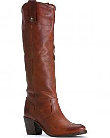 Frye Women's Jackie Button Riding Boots - Round Toe
