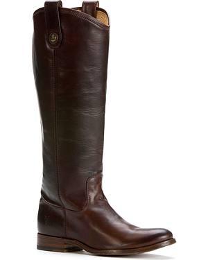 Frye Womens Melissa Button Riding Boots