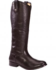 Frye Women's Melissa Button Riding Boots - Wide Calf