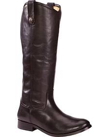 Frye Women's Melissa Button Riding Boots - Wide Calf