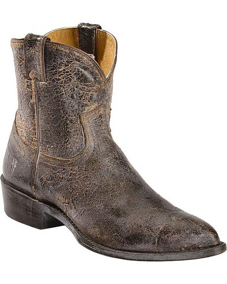 Frye Women's Billy Short Cowgirl Boots - Round Toe