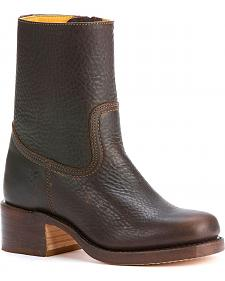 Frye Women's Campus Zip 10 Boots - Square Toe
