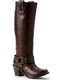 Frye Women's Carmen Harness Tall Boots - Round Toe
