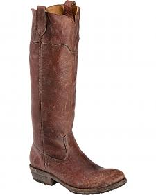 Frye Women's Carson Lug Riding Boots - Round Toe